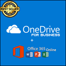 OneDrive 5TB for business | Custom Username | Lifetime Account