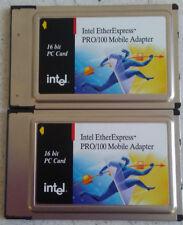 (2) INTEL MBLA1600 ETHEREXPRESS PRO/100 LAN ADAPTER ISA 16 BIT 670666-002