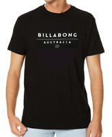 "BRAND NEW  TAG BILLABONG MENS LARGE (L) ""UNITE"" SURF T-SHIRT TEE SLIM FIT BLACK"