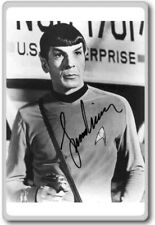 Leonard Nimoy – Star Trek Autographed Preprint Signed Photo Fridge Magnet