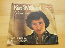 KEN WILBARD - LET'S FLY TOGETHER / MA CHERIE MON AMOUR - ATOM 238.106 - FUNK !!