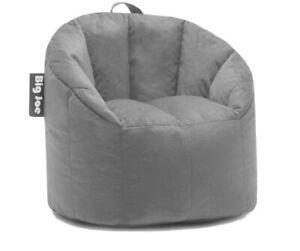Big Joe Milano Bean Bag Chair - Smartmax Grey, Regular