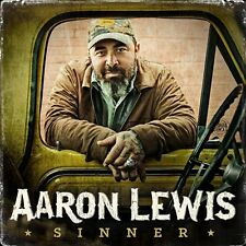AARON LEWIS CD - SINNER (2016) - NEW UNOPENED - COUNTRY - DOT RECORDS