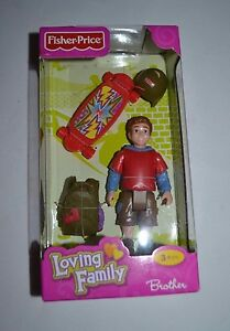 2011 FISHER PRICE LOVING FAMILY BROTHER W8790 NEW IN PACKAGE !! VHTF !! RARE !!