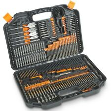 VonHaus 246-Piece Drill and Driver Set Titanium Coated for Drilling Metal Wood