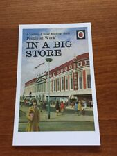 Ladybird Book Themed Postcard - In a Big Store - NEW