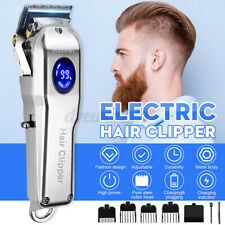 KEMEI Professional Electric Men Hair Clipper Trimmer LED Cordless