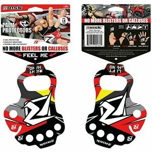 PALM PROTECTORS ADULT PALM SAVERS Blisters RISK RACING MOTOCROSS ENDURO - LARGE