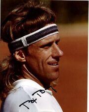 Bjorn Borg signed autographed Tennis photo