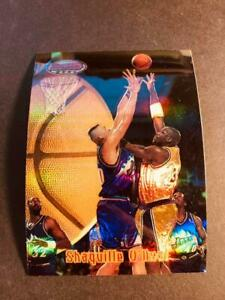 1997-98 Bowman's Best Preview Refractor OVERSIZE PROOF Shaquille O'Neal Lakers