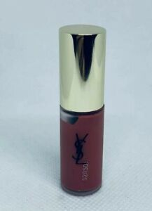 Yves Saint Laurent YSL Tatouage Couture Liquid Matte Lip Stain Travel Size 16