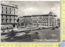Cartolina - Postcard - Viareggio - Piazza Puccini - 1955