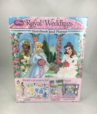 Disney Princess Royal Weddings Storybook and Playset by Readers Digest