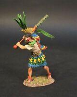 JOHN JENKINS AZTECS & CONQUISTADORS AZ-23 AZTEC ALLY CHIEFTAIN WITH CUAUHOLO MIB