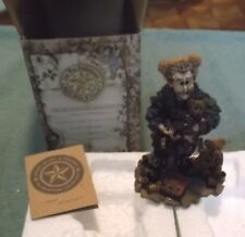 Boyds Bears The Wee Folkstones T.H. Bean The Bearmaker Elf #36400 Nos
