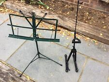 More details for violin stand and music stand