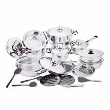 18/10 High Quality Heavy Stainless Steel Cookware 27-piece Set