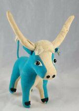 Vintage Dream Pet Longhorn Bull in Blue!!