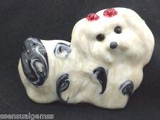 Dog Pin Lhasa Apso Brooch Puppy Women's Crystal