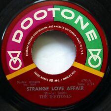 DOOTONES 45 Strange Love Affair / Day You Said Goodbye DOOTONE Doowop VG++  w59