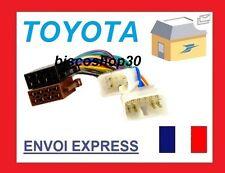 Cable Adaptateur Faisceau ISO autoradio voiture Toyota