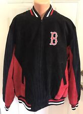 BOSTON RED SOX, Size XXL, G-3 Sports, Suede/Leather, MLB Embroidered Jacket. NEW