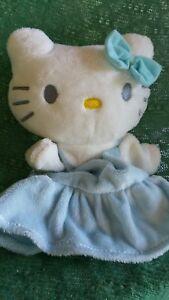 Blue Kitty hand puppet