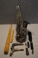 CANNONBALL GLOBAL SERIES ALTO SAXOPHONE BIG BELL BLACK NICKEL SATIN FINISH