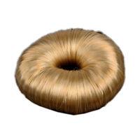 Blonde Hairdressing Hair Donut Ring Bun shaper Styler A+