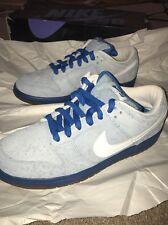 "Nike Dunk Low Pro SB ""Border Blue"" 304292-411 Size 9 Deadstock Brand New"