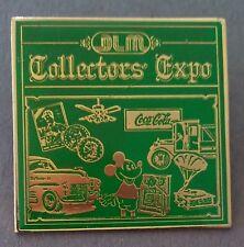DLM Collectors' Expo 1986 Pin Green Limited Edition 1/600 Disney Coca-Cola