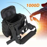 Angelzubehör Tasche Schutzhülle Sack Reisetasche Taille/Schulter See/Karpfen