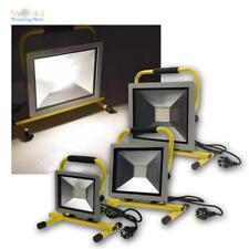 LED Fluter Handlampe Strahler Arbeitsleuchte Baustrahler Flutlicht 30/50/100W