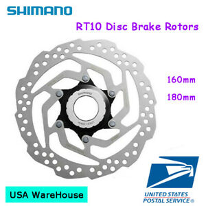 Shimano SM-RT10 Rotor Disc Brake Rotor Center Lock 160mm 180mm MTB