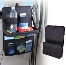 Car Back Seat Bag Laptop Tray Bag Food Table Travel Desk Organizer Holder