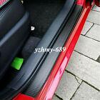 Car Sticker Rubber Protector 5d Carbon Fiber Molding Door Sill Parts Accessories