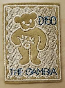 Gambia 2003 -  Embroidered Cloth Teddy Bear Postage Stamp - MNH