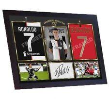 Cristiano Ronaldo signed autograph print photo ronaldo juventus Ronaldo FRAMED
