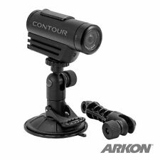 CMP198: Arkon Windshield or Dashboard Mount for Sony Action CAM, Contour Camera