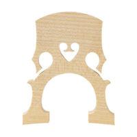 Pièces de rechange pour pont de violoncelle en érable pour accessoires
