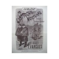 VARGUES Ataque De Felicien Nocturna Chant Piano partitura sheet music score