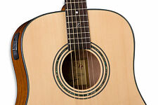 Zager Easy Play ZAD20E N Acoustic Electric Natural Guitar..rated in the top 2%!