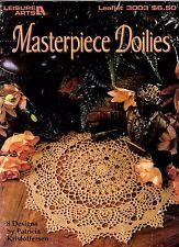 L.A. Crochet Pattern Book MASTERPIECE DOILIES 3003 by Patricia Kristoffersen