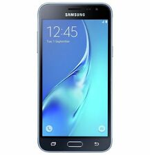 "Samsung Galaxy J3 Smartphone Black 8GB 5"" Touchscreen WiFi 4G Unlocked Sim Free"