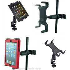 Heavy Duty Tablet PC Music / Mic Stand, Table, Shelf or Desk Holder Mount