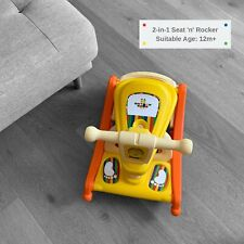 KindyWise, 2-in-1 Floor Seat and Rocker. Flips From A Rocker To Seat In Seconds.