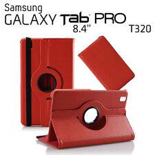 "FUNDA PARA TABLET SAMSUNG GALAXY TAB PRO 8.4"" T320 GIRATORIA ROJO"