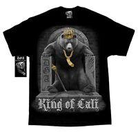 DAVID GONZALES DGA KING OF CALI CALIFORNIA BEAR THRONE TATTOO MENS T SHIRT M-5XL