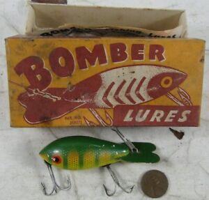 Vintage 1940's Wood Fishing Lure Bomber #7