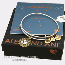 Authentic Alex and Ani Two Tone PISCES RG/RS Expandable Bangle